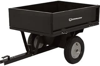 Strongway Steel ATV Trailer - 500-Lb. Capacity, 10 Cu. Ft.