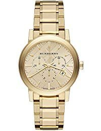 Luxury Gold 2014 Damen Unisex Herren The City Chronograph Armbanduhr BU9753