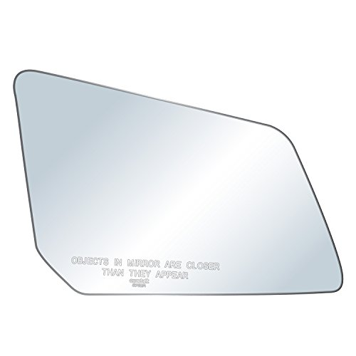 exactafit 8762R Passenger Side Mirror Glass Replacement Plus 3m Adhesives Compatible With Chevrolet Traverse GMC Acadia Saturn Outlook SUV Right Hand Door Wing RH