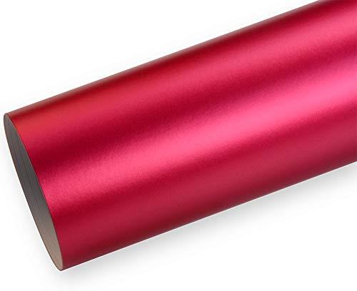 Neoxxim 21,20€/m2 Premium - Auto Folie - Chrom MATT Pink Ice 50 x 150 cm - blasenfrei mit Luftkanälen ca. 0,16mm dick selbstklebend flexibel