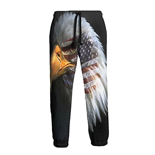 Pantalones deportivos para hombre América Eagle Comfy Cool Sweatpants sueltos con cordón