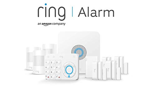 Ring Alarm 10-Piece Kit (1st Generation) by Amazon – Home Security System...