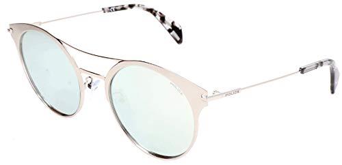 Police Sonnenbrille SPL500 Gafas de sol, Blanco (Weiß), 53.0 para Mujer