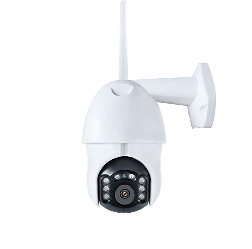 Alician 1080P Wifi IP Camera Buiten Twee Weg Audio PTZ 5X Optische Zoom Nachtzicht Draadloze Beveiliging Dome Camera, 1080P/vaste focus, automatische tracking UK plug