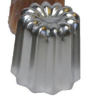 GrandChef(グランシェフ)『カヌレ型ステンレス製カヌレボルドーCANELEDEBORDEAUX』