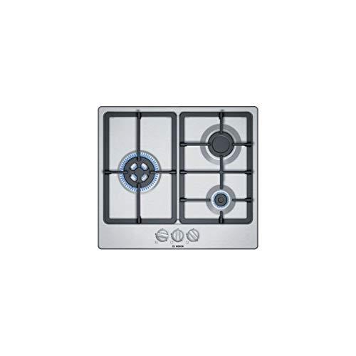 Bosch PGC6B5B90, plaque de gaz, acier inoxydable