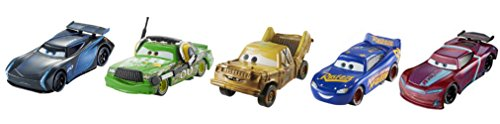 Cars 3-Pack de 2 Figuras de la película Justice League (Mattel FGR91)