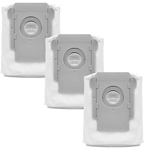 KEEPOW i7+ s9+ i3+ i6+ i4+交換用紙パック 交換消耗品 ロボット掃除機用 交換アクセサリ(3セット)