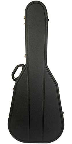 Hiscox Cases Acoustic Guitar Case/OOO & OM Black Shell/Silver Int-Pro II