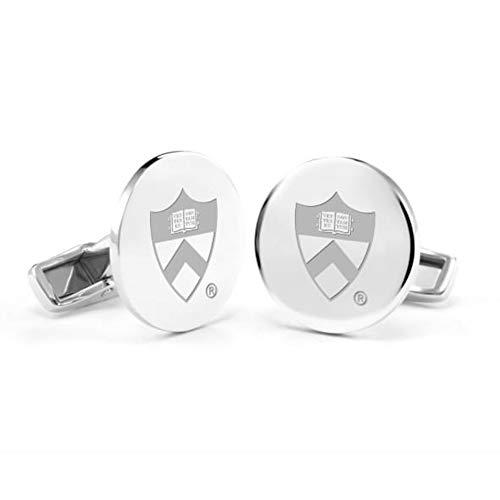 M. LA HART Princeton University Cufflinks in Sterling Silver