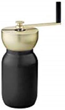 Stelton Collar Coffee Grinder, Steel, Black, 19 x 10 x 14 cm