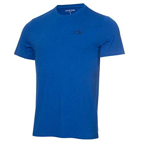 Calvin Klein Golf Hombre G Newport Camiseta Deportiva Azul Náutico M