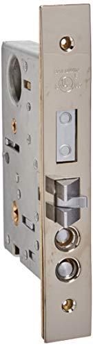 Baldwin Estate 6075.055.RLS Lifetime Polished Nickel 2.75 Back Set Entry Mortise Lock