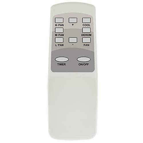 YAOHUIMI Replacement Remote Control for Impecca AC Air Conditioner Remote Control IWA-06NR IWA-08NR IWA-10NR