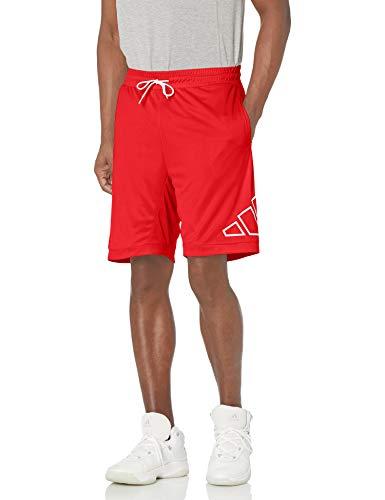 adidas,Mens,Big Logo Shorts,Vivid Red,X-Large