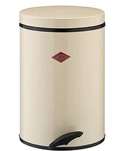 Wesco 117 212-23 Tretabfallsammler Softer, 13 Liter, Mandel