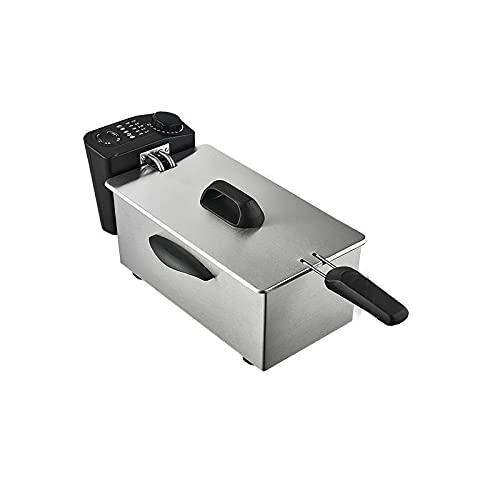 Freidora, Freidora Eléctrica, Mini Freidora Eléctrica Doméstica, Temperatura Constante Automática,3.5L