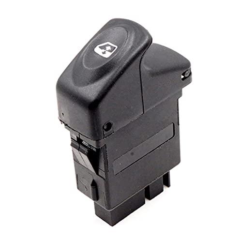 GLLXPZ Interruptor de La Botonera Elevalunas, para Renault Kangoo 1998-2014, Electrónico Panel Interruptor de Botón