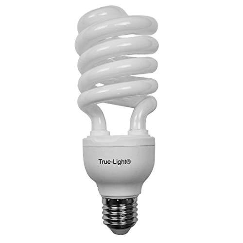 True-Light 23W - L'ampoule lumière du jour originale - Spectre complet 5500K IRC 95