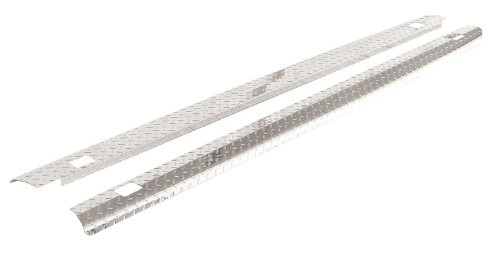 ICI SPBR46TB Treadbright Aluminum Truck Bed Rail Cap with Holes