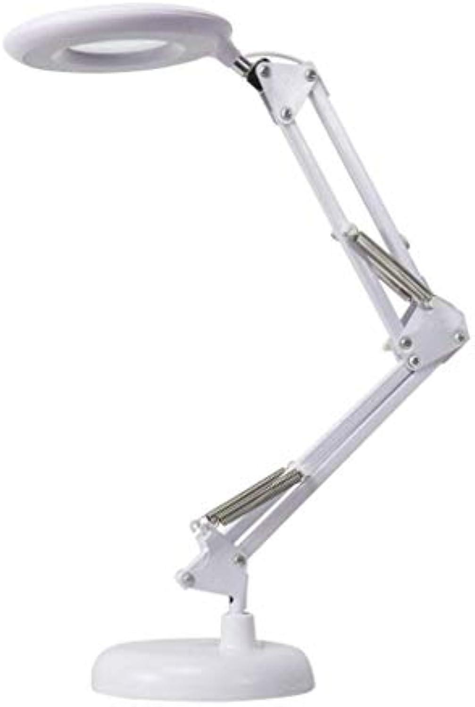 Schreibtischlampen Lampe De Table, geführte Tischlampe-kreative faltende europische Schlafzimmer-Bett-Lese-Lernauge führte amerikanische lange Armschmiedeeisen-Tischlampe, Lampe De Tab