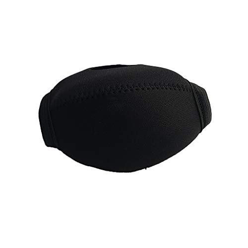 Neopren Cover Hülle Tasche Schutzhülle für Atemregler Second Stage Oktopus - Schwarz