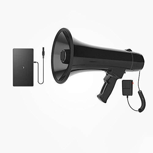 Zixin Tragbares Megaphon Lautsprecher Kompakt und Batterie betrieben mit 30 Watt Leistung, Mikrofon, PA-Sound for Cheerleading und die Polizei zu verwenden, A