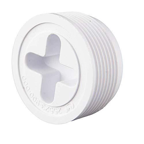 Custom 25523-900-000 3,81 cm MIP Josam Plug - Blanc