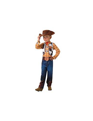 DISBACANAL Disfraz Woody para niño - -, 5-6 años