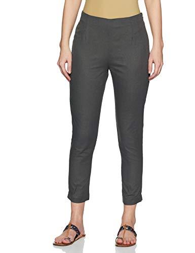 W for Woman Women's Leggings (CR60151-68938_Grey_14)