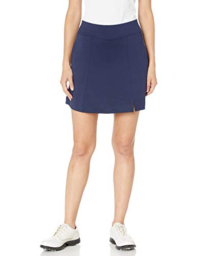 Callaway Women's Golf Performance 17' Knit Skort with Tummy Control, Peacoat, Large