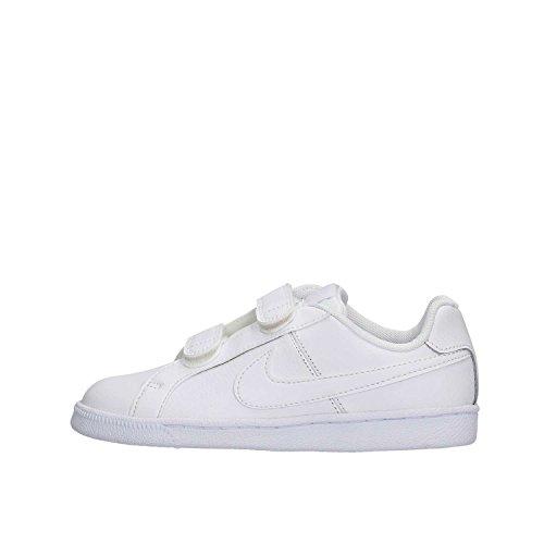 Nike Court Royale (PSV), Zapatillas de Tenis Unisex niños, Blanco Blanco White White, 34 EU