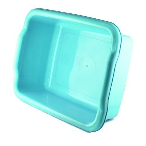 Bacinella rettangolare Porta oggetti, biancheria casa, Polietilene 35x30x16, 8 lt
