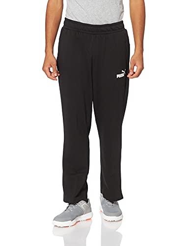 Puma Ess Logo S TR Op SRL, Pantaloni Uomo, Nero Black), XL