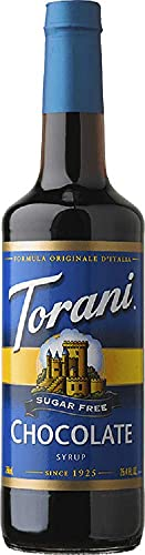 Torani Sugar Free Chocolate Flavor Syrup, 750ml