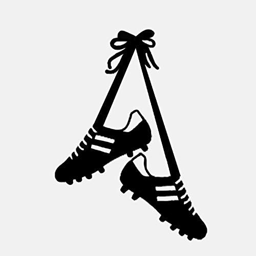 45,2 CM * 63 CM Coolste Fußball-PVC-Wandaufkleber Fußballschuhe Kinder Jungen Sport