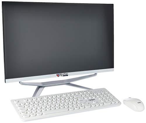 "Aio 23.6"" Curvo Pentium Dual Core 4Gb Ssd256 Win 10 com Mouse e Teclado sem Fio"