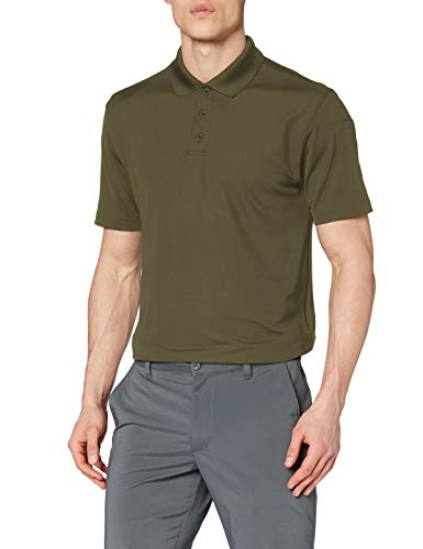 Under Armour Men's Tactical Performance Polo, Marine Od Green/Marine Od Green, XXX-Large
