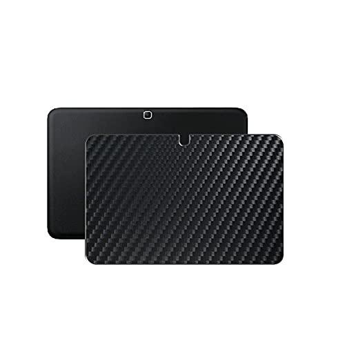 Vaxson 2-Pack Pellicola Protettiva Posteriore, compatibile con Samsung Galaxy Tab 4 T530 T531 T535 10.1' Tab4, Nero Back Film Protector Skin Cover [ Non Case ]