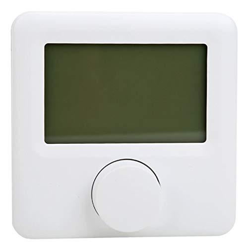 Termostato programable, controlador de temperatura del termostato de calefacción con pantalla LCD digital HYO6BW para el hogar