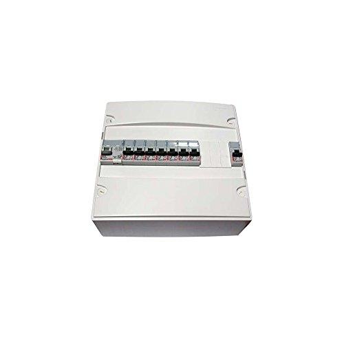 Legrand LEG92726 Tableau Pré-Équipé 1 Rangée 8 Disjoncteur + Dif