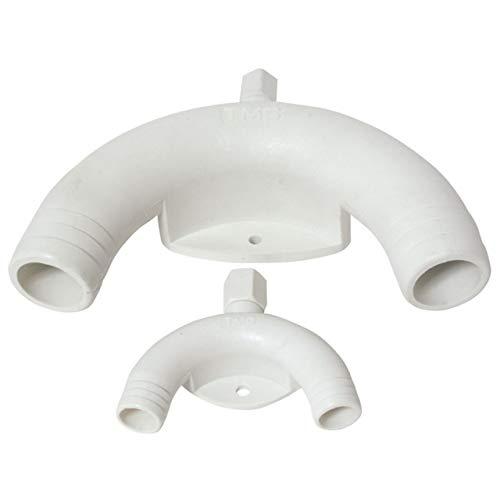 Nuova Rade Anti-Siphon mit Entlüftungsventil Toilette unterhalb Wasserlinie, Durchmesser:38mm