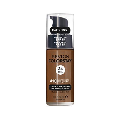 Rv Base Clst Pump Comb/Oily Skin Cappuccino, Revlon