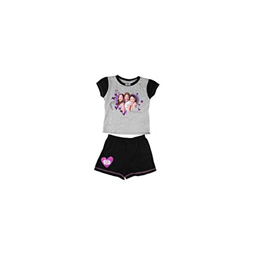 Complet mer 2 pièces Violetta Disney Blanc/Lilas 4 ans d33707/1