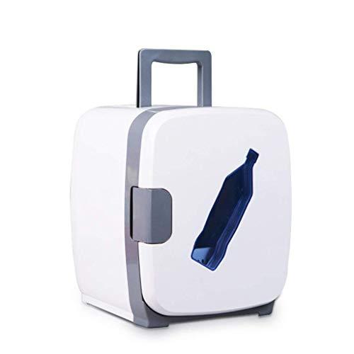 LYJ 13L del coche mini refrigerador del coche de doble uso en frío del dormitorio de refrigeración (Color: Blanco)