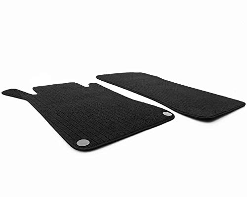 kh Teile Fußmatten W209 C209 A209 CLK/AMG Original Qualität Rips 2-teilig schwarz