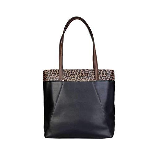 Roberto Cavalli C51PWCEM0082_999-BLACK, Bolso de mano para Mujer, handbag