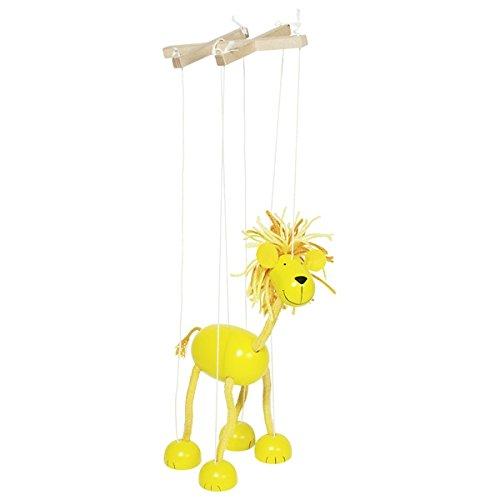 Goki 51868 Marionette Löwe Puppe