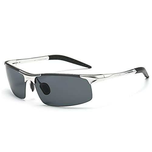 YHSW Gafas Deportivas Gafas Deportivas polarizadas para Hombres y Mujeres,conducción en Bicicleta Golf Pesca Correr Vela esquí,protección UV400
