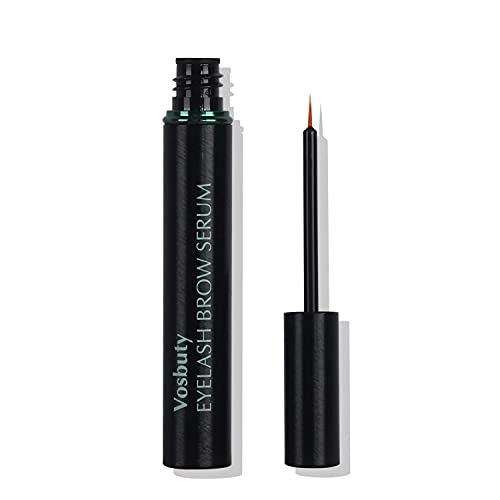Eyelash Growth Serum and Eyebrow Enhancer-Lash Enhancing Serum-Eyelash Serum & Enhancer-Thicker, Stronger, Healthier Lashes & Brows (5ml) (V-1)
